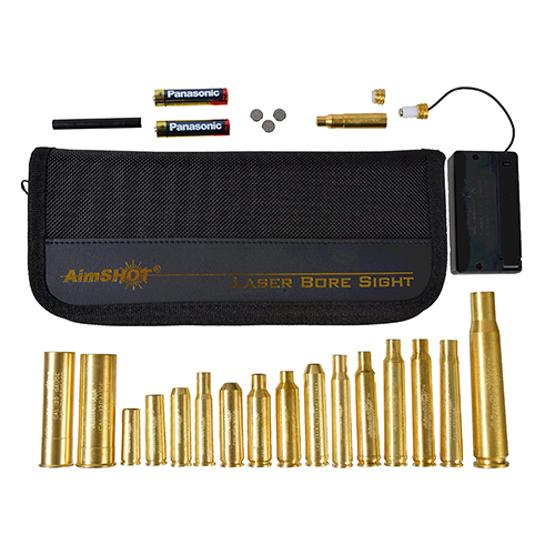 Aimshot KTMASTERRED Master Rifle Laser Boresighter Kit Multiple Brass