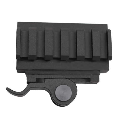 Aimshot MT61172 Quick Release Mount For AR-15 Picatinny Black Finish