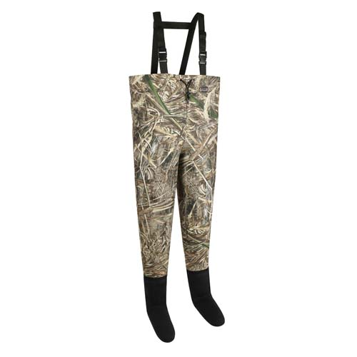Allen Vega 2-Ply Stocking Foot Wader Real Tree Max 5 Camo Small