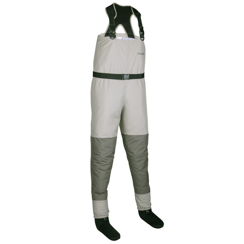 Allen Platte Pro Breathable Stockingfoot Wader Gray|Tan Small