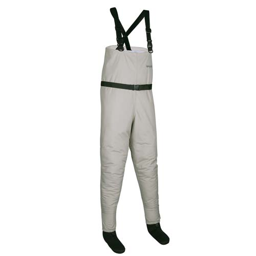 Allen Antero Breathable Stockingfoot Wader Gray Stout Medium