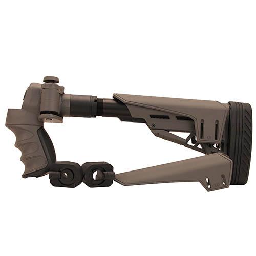 Advanced Technology Intl Moss|Rem|Winc 12 ga TactLite Adjustable Side Folding Stock SRS Destroyer Gray