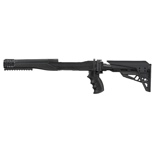 Advanced Technology B2101216 TactLite Rifle Polymer Black Folding| Collapsing
