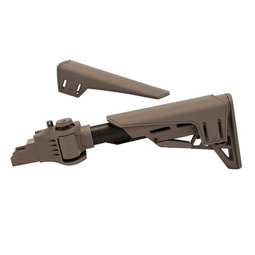 Advanced Technology Intl AK-47 TactLite Stock Destroyer Grey w|Cheek Rest|SRP