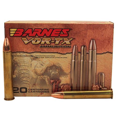 Barnes 22032 VOR-TX 500 Nitro Express TSX Flat Base 570 GR 20Box|10Case