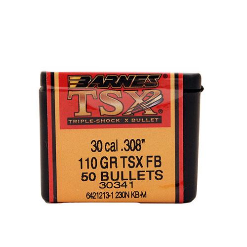 Barnes Bullets 30835 .308 110 TSX FB 50