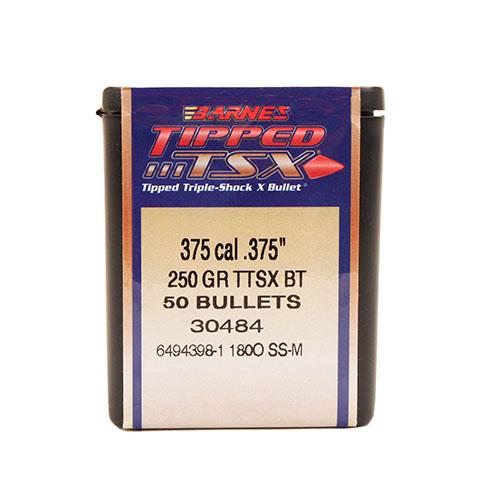 Barnes Bullets 30484 Rifle 375 Caliber .375 250 GR TTSX BT 50 Box