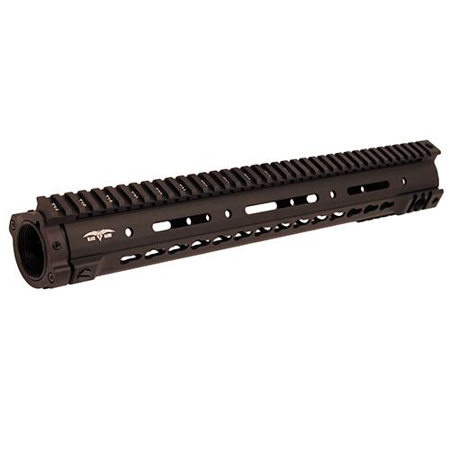 Black Dawn 15&quot BD10 Key Mod Rail Complete Black