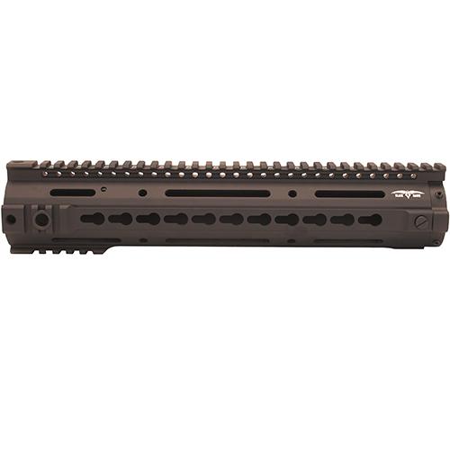 Black Dawn 12&quot BD10 KeyMod Rail, Black (Compatible with BDR-10 Only)