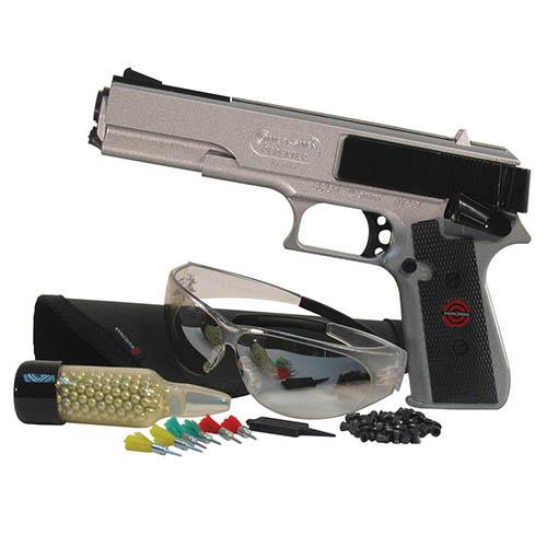 Marksman Pistol Kit W Coated Pellets