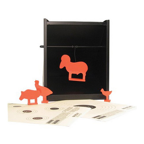 Beeman 2085 Pellet Trap w|Targets and Silhouetts 1