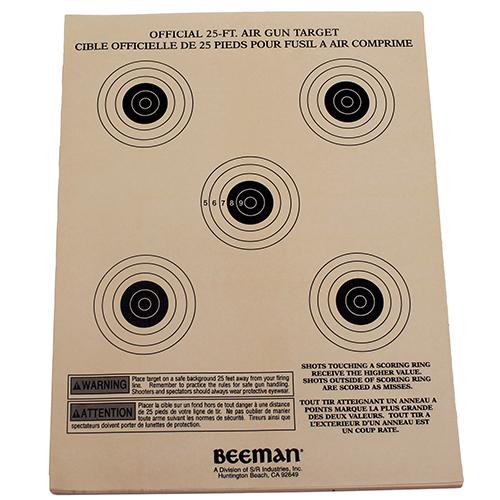 Beeman Targets (Per 25)