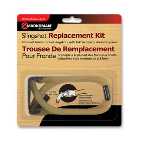Marksman 3330 Slingshot Replacement Band Kit 6 x 1 in.  x 6 in.  in.