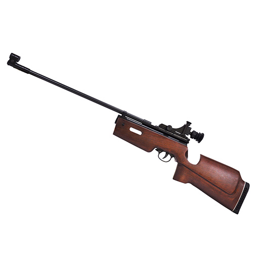 Beeman SAG CO2 Air Rifle Blued|Wood .177AIR 24in Barrel Single Shot
