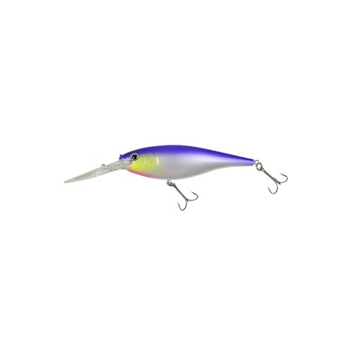 Berkley 1316754 Flicker Shad Hard Bait 2 in.  Length, 9'-11' Swimming Depth, 2 Hooks, Uncle Rico, Per 1
