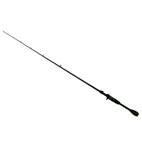 Berkley 1363709 AMP Casting Rod 6' Length, 1pc Rod, 12-20 lb Line Rate, 3|8-1 oz Lure Rate, Medium|Heavy Power