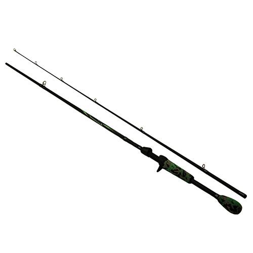 Berkley 1363712 AMP Casting Rod 6'6 in.  Length, 2pc Rod, 12-20 lb Line Rate, 3|8-1 oz Lure Rate, Medium|Heavy Power