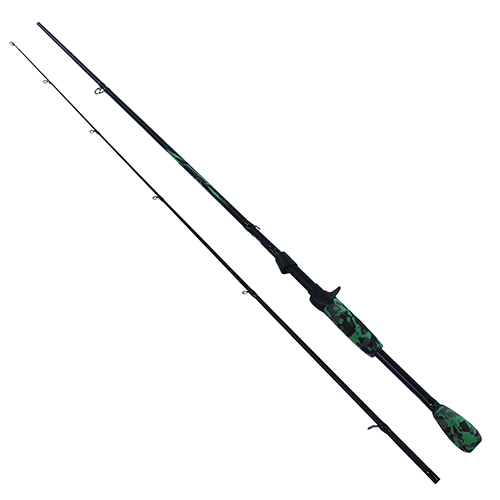 Berkley 1363714 AMP Casting Rod 7' Length, 2 Piece Rod, 8-17 lb Line Rate, 1|4-5|8 oz Lure Rate, Medium Power