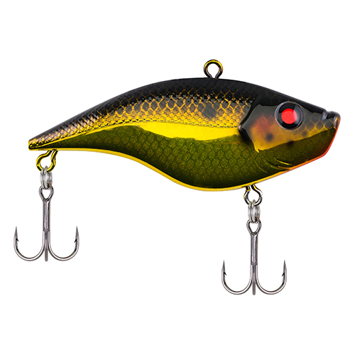 Berkley 1375333 Warpig Hard Bait 3 in.  Length, 2 Hooks, Black Gold, Per 1