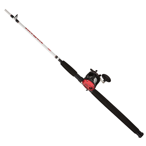 Berkley 1404095 Big Game Baitcast Combo 5.1:1 Gear Ratio, 1 Bearing, 7' Length, 2pc Rod, Medium|Heavy Power, Right Hand