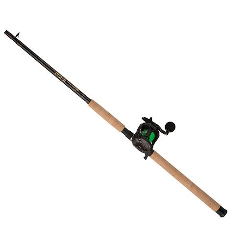 Berkley 1404099 ECAT Baitcast Combo 5.1:1 Gear Ratio, 4 Bearings, 7' Length, 1pc Rod, Medium Heavy Power, Right Hand