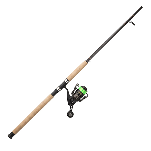 Berkley 1404100 ECAT Spinning Combo 5.2:1 Gear Ratio, 5 Bearings, 7' Length, 1 Piece Rod, Medium Power, Ambidextrous