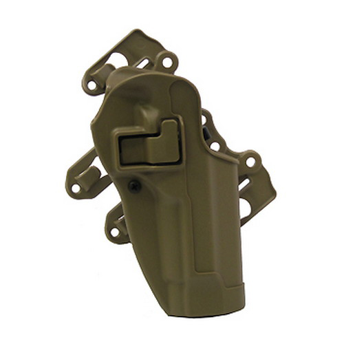 BlackHawk! 40CL01FG-R Serpa S.T.R.I.K.E.|MOLLE Tactical Holster Foliage Green, Right Hand, Beretta 92|96