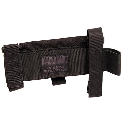Blackhawk 52BS02BK Buttstock Shotgun Shell Pouch Black Nylon