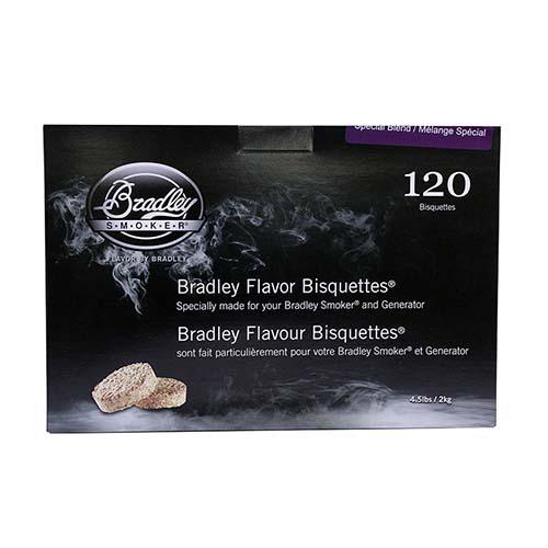 Bradley Technologies Blend Bisquettes (120 Pk)