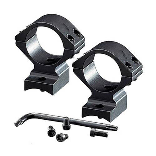 Browning 12390 Integrated Ring Base Set Abolt, Standard, Gloss