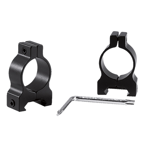 Browning 12555 Weaver-Style Ring Set 1 Dia Standard Black Gloss in.