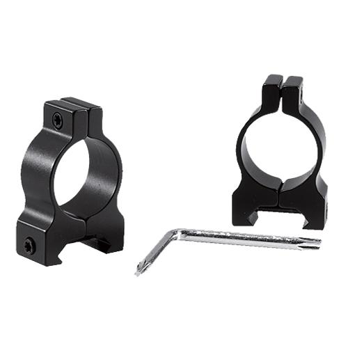 Browning 12561 Weaver-Style Ring Set 30mm Dia Standard Black Gloss