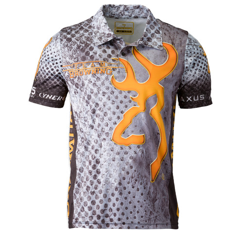 Browning Shooting Polo Gray Large