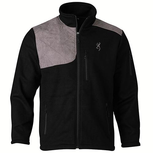 Browning Bridger Men's Wool Shooting Jacket X-Large Black|Grey