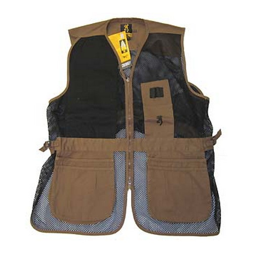 Browning Vest Trapper Creek Clay|Black S