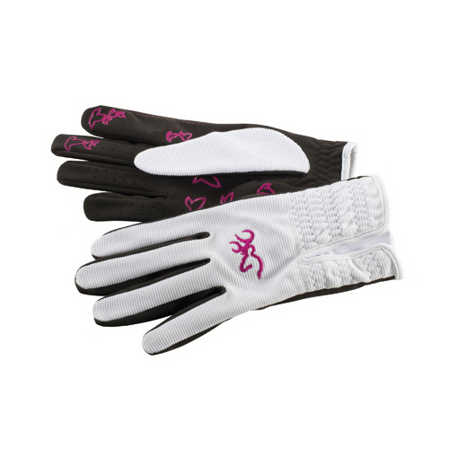 Browning Women's Trapper Creek Glove, White Small