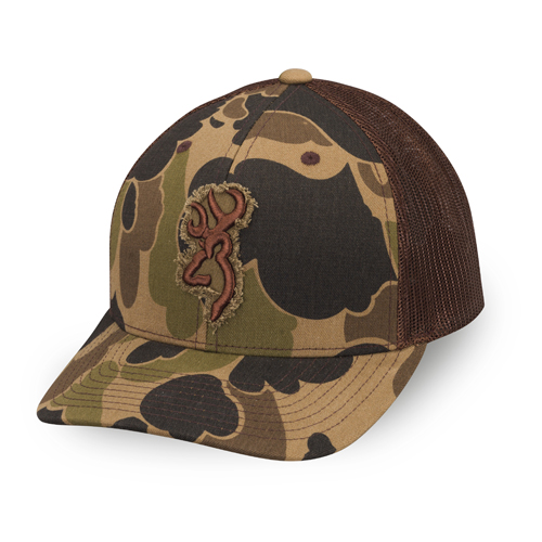 Browning Men's Flashback Mesh Cap - Camo Clothing, Basic Hunting Headwear at Academy Sports