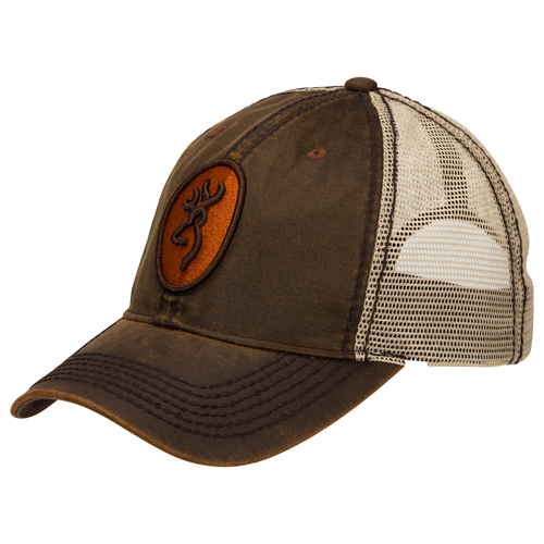 Browning 308187881 Cap Cody Mesh, Brown|Orange