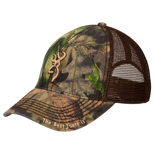 Browning 308367281 Cap Bozeman, Brown|Mossy Oak Break-Up Country