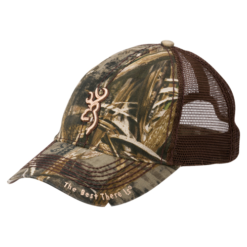 Browning Bozeman Brown Cap Realtree Max-5