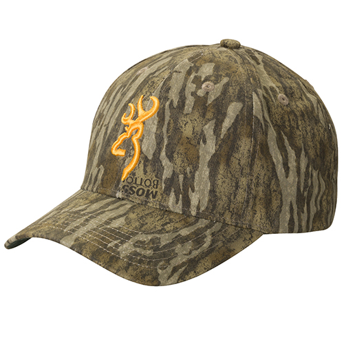 Browning Rimfire 3D Buckmark Cap Mossy Oak Bottom Lands