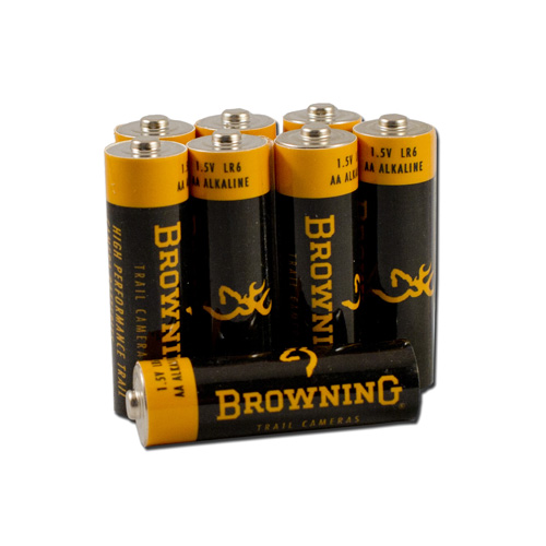Browning Trail Cameras AA BATTERIES