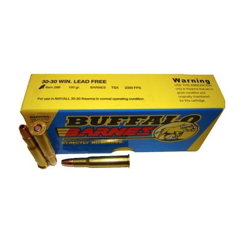 Buffalo Bore Ammo 28B 20 Heavy 30-30 Win Barnes TSX 150GR 20Box 12Case