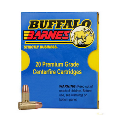 Buffalo Barnes 33F|20 38 Super +P 115 Grains, TAC-XP (Per 20)