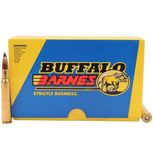 Buffalo Bore 40B 20 Rifle 30-06 Springfield Barnes Tipped TSX BT 168GR 20Bx 12Cs