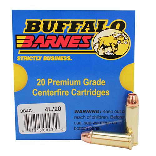 Buffalo Bore Ammo 4L|20 44 Rem Mag Lead-Free XPB 225GR 20Box|12Case