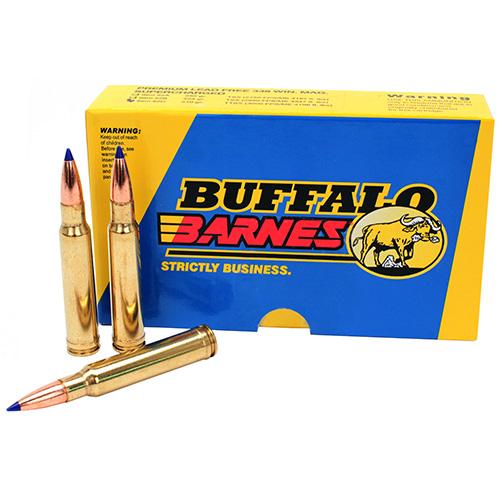 Buffalo Bore Ammo 52D 20 Rifle 338 Win Mag Barnes Tipped TSX BT 210GR 20Bx 12Cs