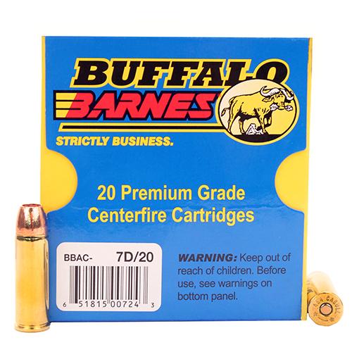 Buffalo Bore Ammunition 7D 20 454 Casull Lead-Free XPB 250GR 20Box 12Case