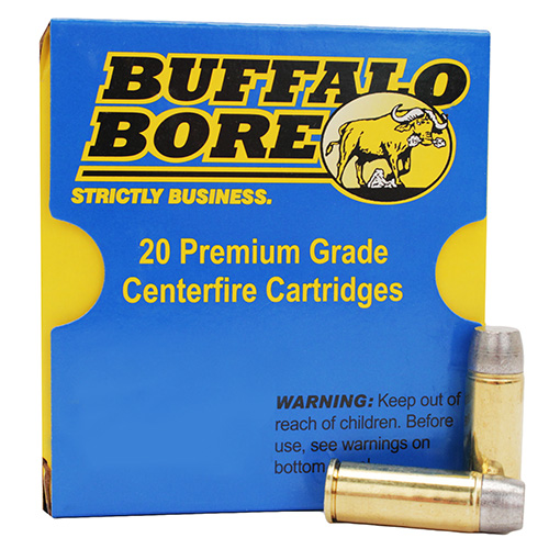 Buffalo Bore Ammunition 13C|20 480 Ruger 410 GR WFN 20 Bx| 12 Cs