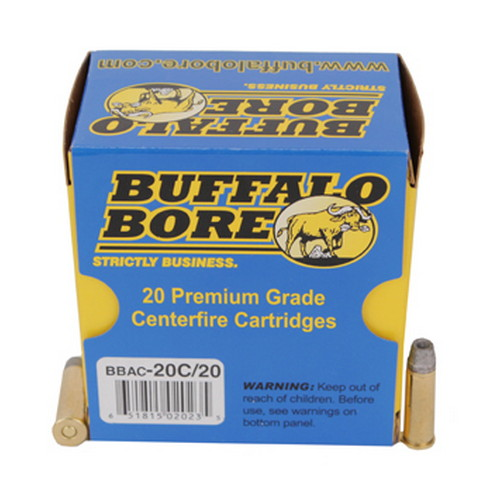 Buffalo Bore 20C|20 38 Special Lead Semi Wadcutter HP 158GR 20Box|12Case